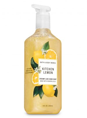 KITCHEN LEMON <br>Kremowe mydło do rąk <br>8 fl oz / 236 ml