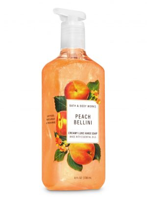 PEACH BELLINI <br>Kremowe mydło do rąk <br>8 fl oz / 236 ml