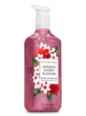 JAPANESE CHERRY BLOSSOM <br>Kremowe mydło do rąk <br>8 fl oz / 236 ml