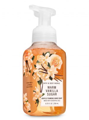 WARM VANILLA SUGAR <br>Mydło do rąk w piance <br>8.75 fl oz / 259 ml