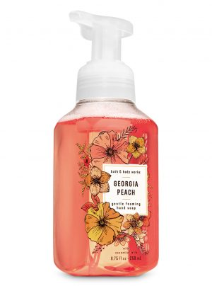 GEORGIA PEACH <br>Mydło w piance <br>8.75 fl oz / 259 ml