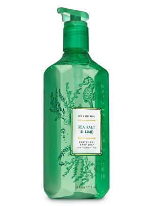 SEA SALT & LIME <br>Mydło do rąk w żelu <br>8 fl oz / 236 ml
