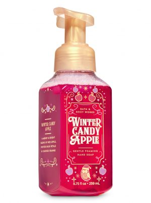 WINTER CANDY APPLE <br>Delikatne mydło do rąk w piance <br> 8.75 fl oz / 259 ml
