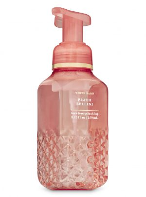 PEACH BELLINI <br>Delikatne mydło do rąk w piance <br> 8.75 fl oz / 259 ml