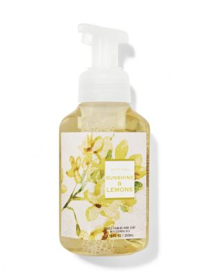 SUNSHINE & LEMONS<br>Delikatne mydło do rąk w piance<br>8.75 fl oz / 259 ml