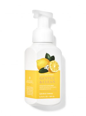 KITCHEN LEMON<br>Delikatne mydło do rąk w piance<br>8.75 fl oz / 259 ml