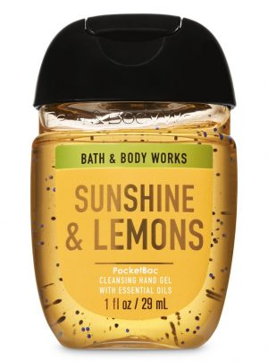 SUNSHINE AND LEMONS<br>Kieszonkowy żel do rąk<br>1 fl oz / 29 ml